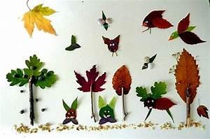 Aus Blättern Basteln : bild 7 herbstdeko basteln w lder aus bl ttern ~ Lizthompson.info Haus und Dekorationen