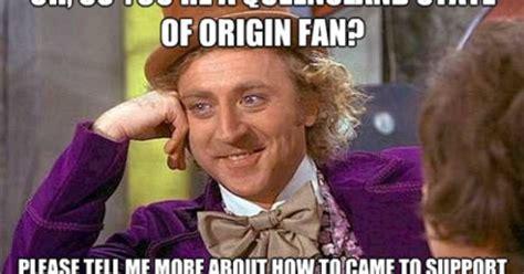 Origin Of Memes - state of origin nsw qld nrl nrl pinterest nrl memes