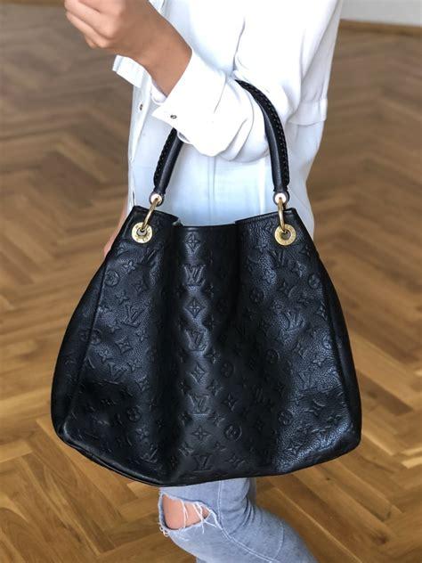 louis vuitton artsy mm monogram empreinte leather noir luxury bags
