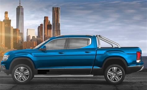 volkswagen atlas pickup features  specs