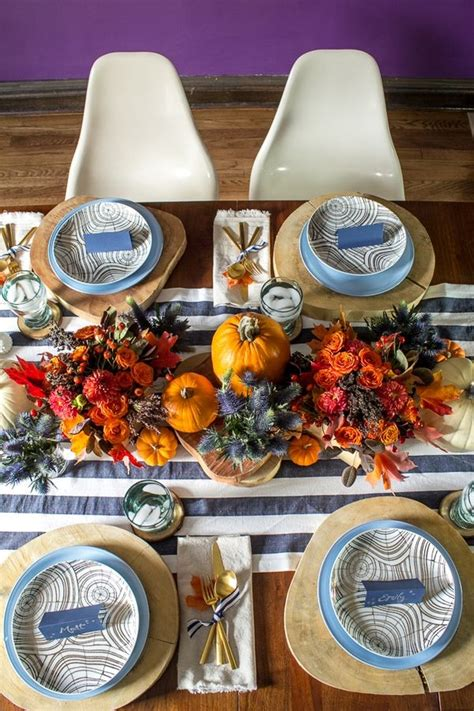 Tabletop Inspiration by Thanksgiving Tabletop Inspiration Handmaker Of Things