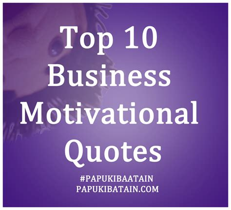 Motivational Quotes For Business People Quotesgram