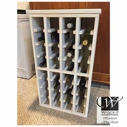Wine Shabby Cabinet Bottle Chic Wood Minwax