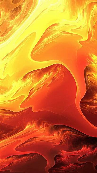Iphone Fire Wallpapers Aesthetic Orange Background Yellow