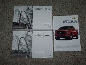 2015 Chevy Colorado Truck Owner Operator User Guide Manual