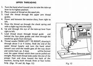 Dressmaker 2402 Sewing Machine Threading Diagram