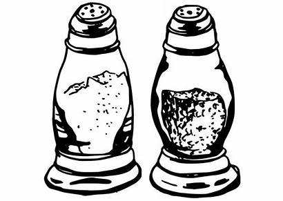 Salt Coloring Pepper Shakers Pages Printable Getcolorings
