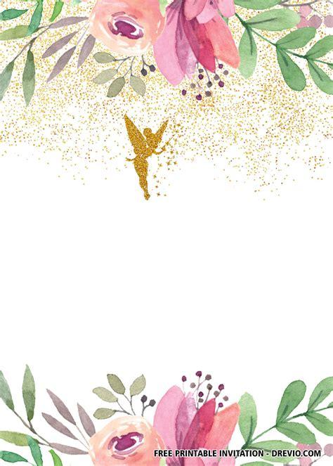 fairy invitation templates fairy invitations