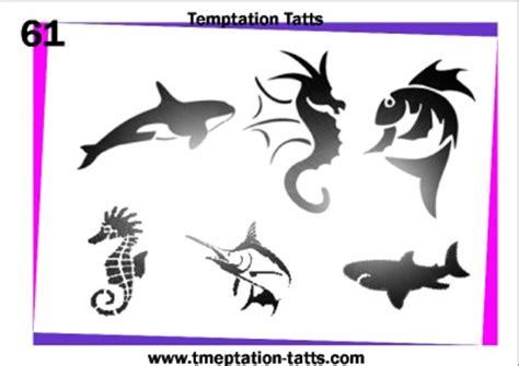 nice sea creature tattoos