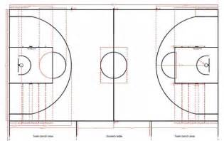 Flooring For Badminton Court by Basketball Court Dimensions Fiba 2012
