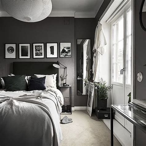 Small Dark Bedroom  Photo By @kronfoto & Styling By