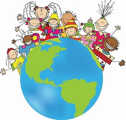 Clipart Around Wonderful Multicultural Child Friendship Cliparts