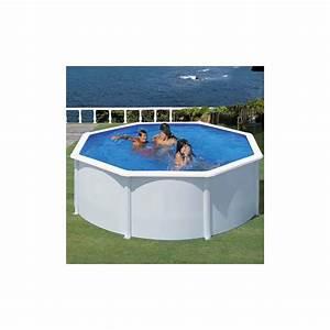Piscine En Acier : piscine ronde en acier fidji d 3 5 x h m gr gamm ~ Melissatoandfro.com Idées de Décoration