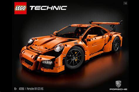 lego technic porsche 911 build your lego introduces porsche 911 gt3 rs replica