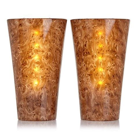 it s exciting lighting 2 pack battery powered led wall