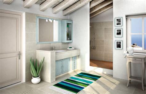 bagni piastrellati moderni mobile bagno classico effetto muratura cose di casa
