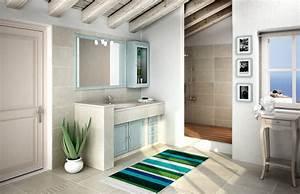 Casabook Immobiliare  Mobile Bagno  Classico  Effetto Muratura