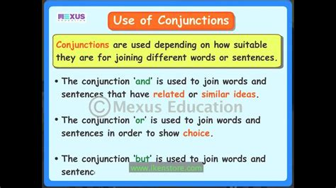 conjunctions youtube