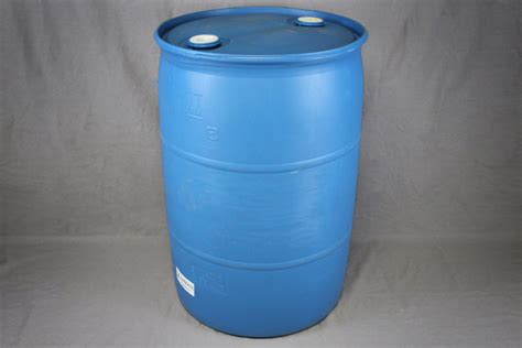 gallon closed top blue poly drum reconditioned