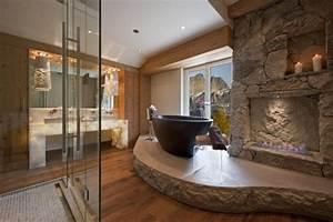 Salle de bains design naturel - 25 idées en belles photos