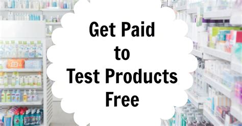 Paid Product Testing From Home by How To Get Paid To Test And Review New Products At Home