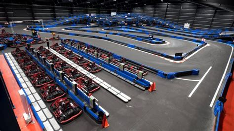 The Largest Indoor Go-kart Track In The World Is Hiding In