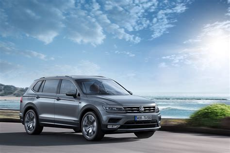 Volkswagen Tiguan Grows To Become Allspace By Car Magazine