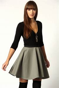 27 best images about OUTFITS on Pinterest | Classy Skater skirt outfits and Thigh high socks