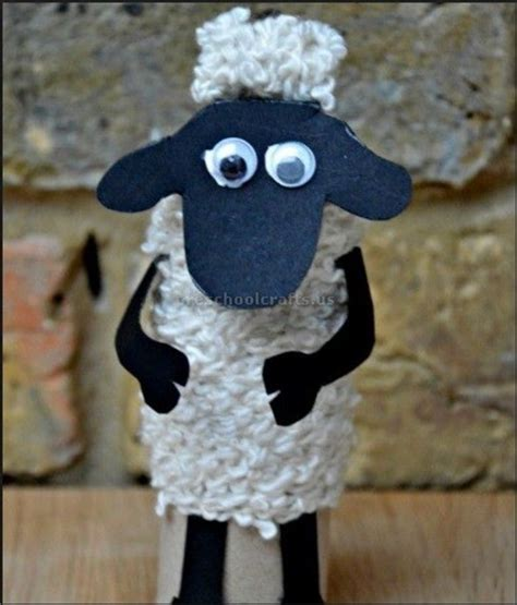 sheep pattern for preschool 805 | sheep craft ideas for toddler