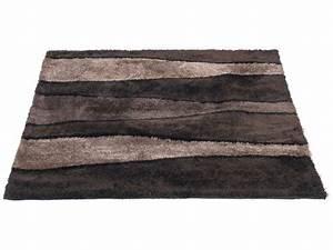 Tapis Grande Taille : tapis 120x170 cm onda coloris marron vente de tapis moyenne et grande taille conforama ~ Teatrodelosmanantiales.com Idées de Décoration