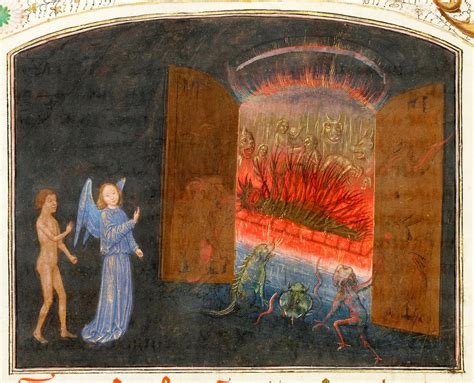 Simon Marmion - The Visions of the Knight Tondal, 1470 ...
