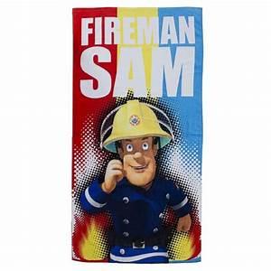 Handtuch Feuerwehrmann Sam : feuerwehrmann sam badetuch strandtuch handtuch ~ Articles-book.com Haus und Dekorationen
