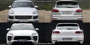 bmw 5 vs mercedes e class benim otomobilim 2015 porsche macan vs porsche cayenne visual comparison