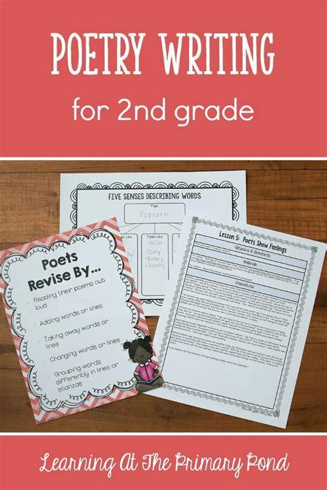 poetry writing lessons   grade  grade writing