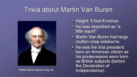 President Martin Van Buren Biography - YouTube