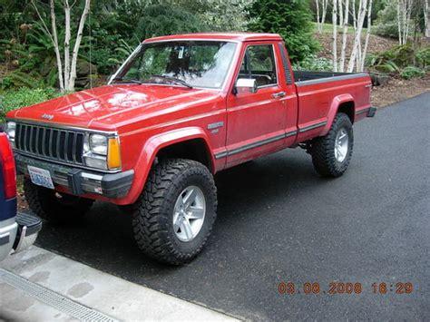 1986 jeep comanche 4x4 92kx250 1986 jeep comanche regular cab specs photos