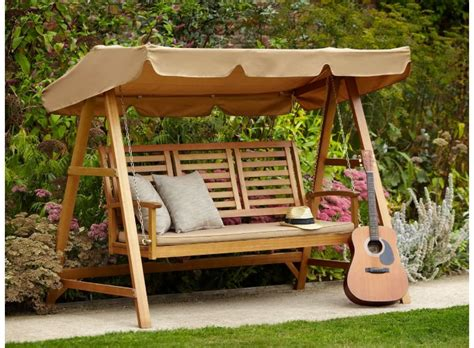 Outdoor Swing Bench by Essentials For A Porch Worth Lounging On The Soothing Blog