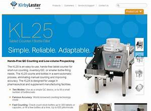 Kl25 Tablet Counting Machine  Automated Pill And Tablet Counter Robot