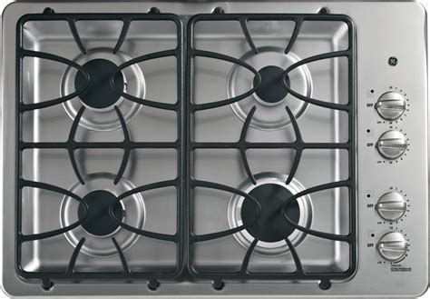 jgpsetss ge  built  gas cooktop stainless steel