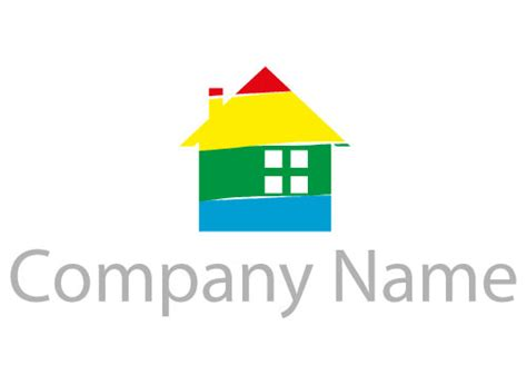 Maler, Malerbetrieb, Druckerei, Haus, Farben Logomarket