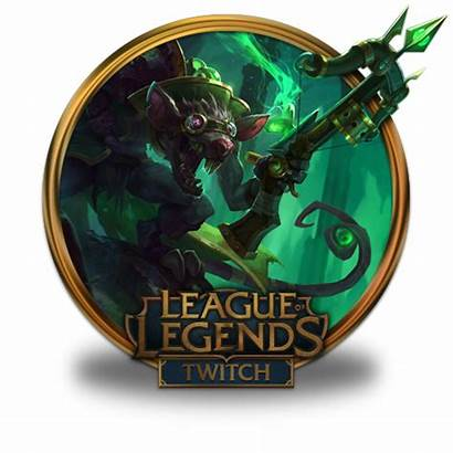 Twitch Icon Legends League Icons Gold Border