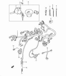 Suzuki Vl125y E2  Y 2000 2000 Wiring Harness Supplied Next