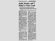 Audie Murphy MoviesHollywood And The Military Comet Over Hollywood 10 Facts About Audie Murphy