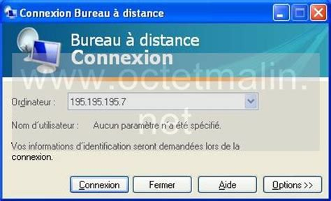 connexion bureau a distance windows xp bureau à distance connexion