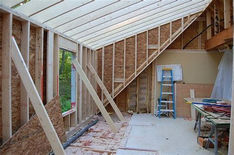 building a shed dormer step by step day 9 framing the dormer in 2019 cape home ideas