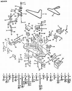 917 255942 Craftsman 18 Hp 44 Inch Mower 6 Speed Garden