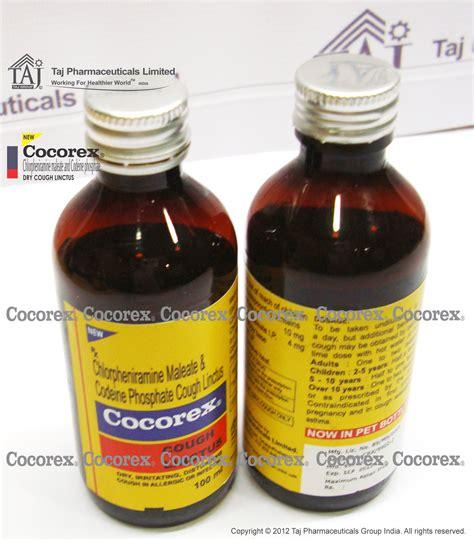 Cocorex Side Effects Chlorpheniramine Maleate Side