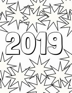 2019 Coloring Page