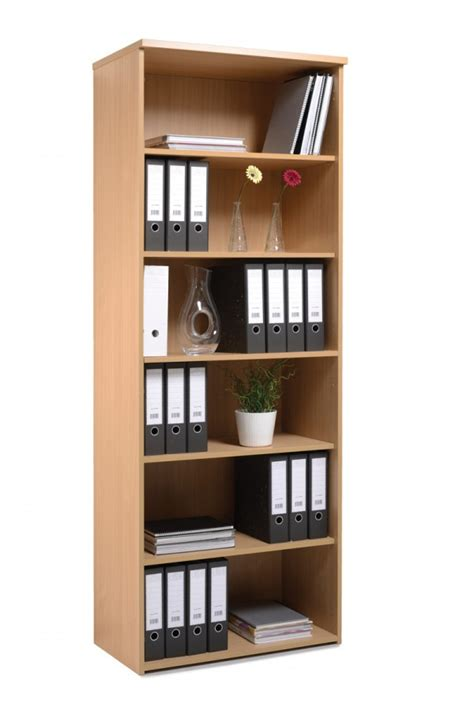 Beech Bookcase by Beech Bookcase With 5 Shelves 2140mm