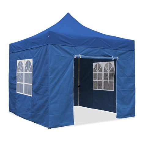 3x3 Profi Falt Pavillon WASSERDICHT PVC Garten Party Zelt